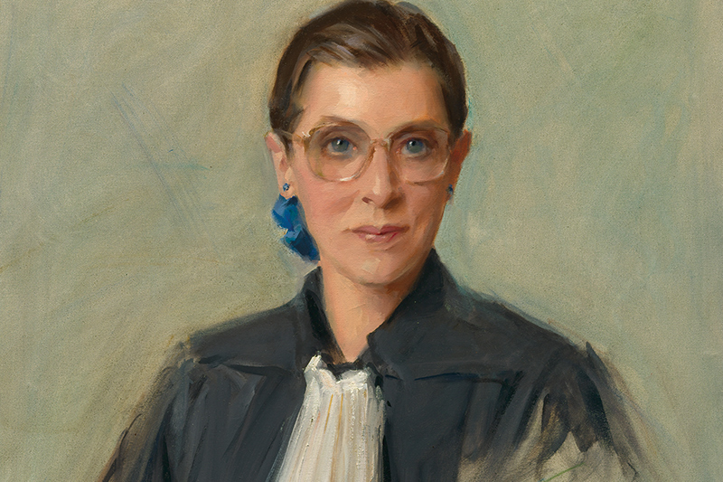 The diminutive but powerful Supreme Court justice is the subject of an unusual exhibition at the Skirball.